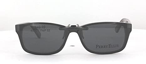 2b6c9d9a89f Amazon.com  PERRY ELLIS PE300-52X17 POLARIZED CLIP-ON SUNGLASSES (Frame NOT  Included)  Health   Personal Care
