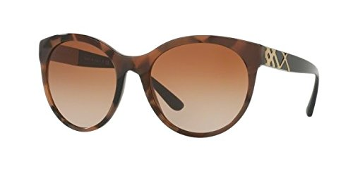 Burberry Women's 0BE4236 Spotted Brown/Brown Gradient - Burberry Warranty