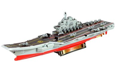 Military Model Liaoning 16 Aircraft Carrier 3D Puzzle-97 Pieces