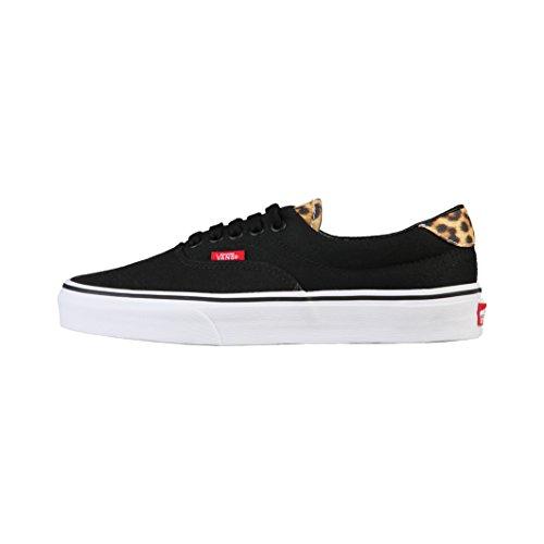 Vans U ERA Zapatillas Sneakers Negro Leopardo Unisex