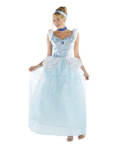 Cinderella Deluxe Costume - X-Large - Dress Size 18-20 (Cinderalla Dress)