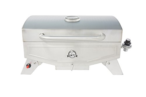 Pit Boss Grills PB100P1 Pit Stop Single-Burner Portable Tabletop Grill (Best Compact Gas Grill)