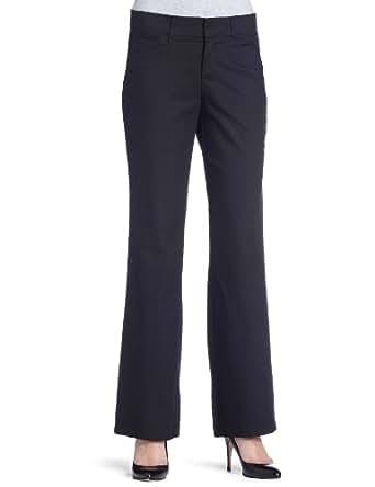 Dockers Women's Petite Metro Trouser Pant,Black,4Petite