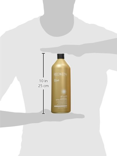 Redken All Soft Shampoo and Conditioner Set 33.8oz 1 Liter by REDKEN