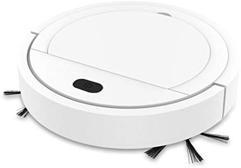 3-in-1 Cleaning Mopping Robot Automatic Vacuumor Sweeping Machin Robotic Vacuum Cleaner Ideal for Homes with Pets White