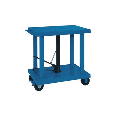 Wesco-Industrial-Products-260069-Steel-Heavy-Duty-Lift-Table-6000-lb-Capacity-48-x-32-Tabletop-59-Height