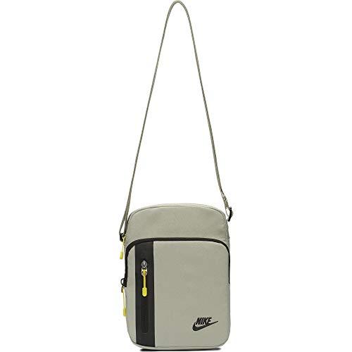 Nike Tech Small Items Bag, Spruce Fog/Opti Yellow/Black