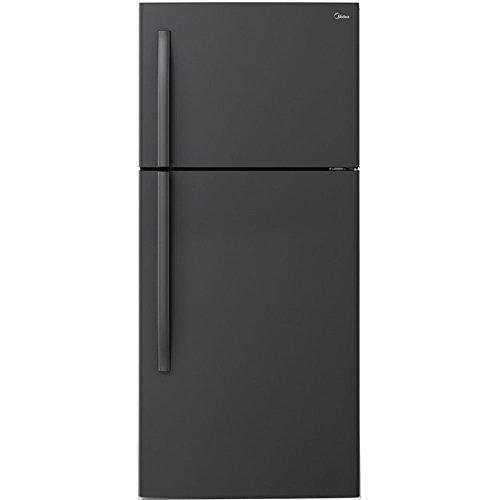 18 cu. ft. Top Mount Refrigerator -Black
