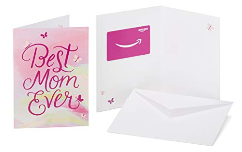 Amazon.com Gift Card in a Greeting Card (Best Mom Ever Design) (Card Gift Mom Amazon)