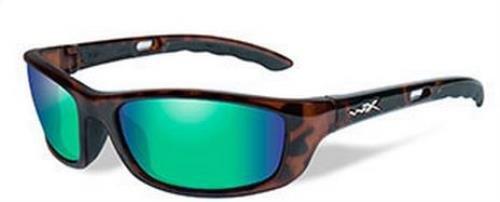 61d06b1b4fbaf Wiley X 1930245 Wily P 17 Polar Emerald Gloss Demi Hunting Safety Glasses
