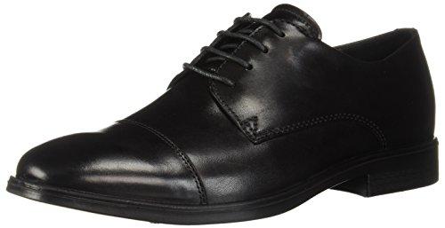 - ECCO Men's Melbourne Cap Toe Tie Oxford, Black, 46 M EU (12-12.5 US)