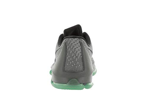 Nike KD 8, Zapatillas de Baloncesto para Hombre Plateado / Gris / Negro / Verde (Nght Slvr / Dp Pwtr-Tmbld Gry-Gr)