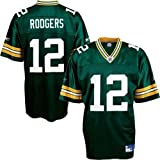 Reebok Green Bay Packers Aaron Rodgers Replica Jersey Large