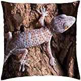 (Tokay gecko - Throw Pillow Cover Case (18