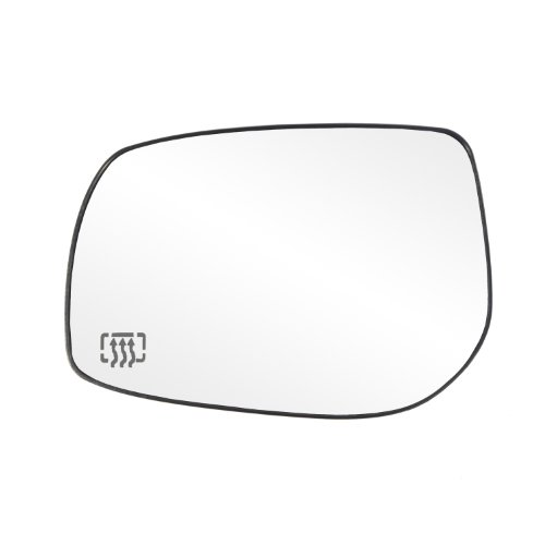 (Fit System 33226 Toyota Corolla/Matrix Left Side Heated Power Replacement Mirror Glass with Backing Plate)