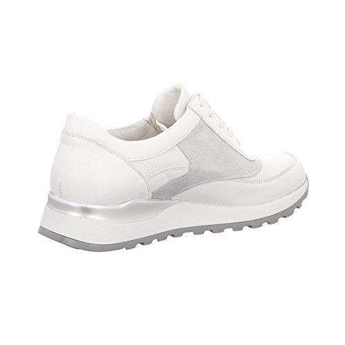 Waldläufer 364027-300-663, Chaussures de ville à lacets pour femme Weiß