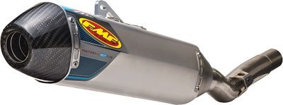 11-17 SUZUKI RMZ450: FMF Factory 4.1 RCT Slip-On Exhaust (Aluminum With Stainless Steel Mid Pipe And Carbon Fiber End Cap)