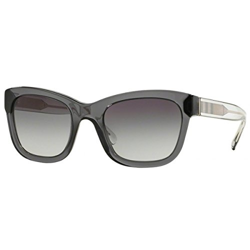 Burberry BE4209 3544/8G Grey BE4209 Cats Eyes Sunglasses Lens Category 3 Size - Eye Express Cat Sunglasses