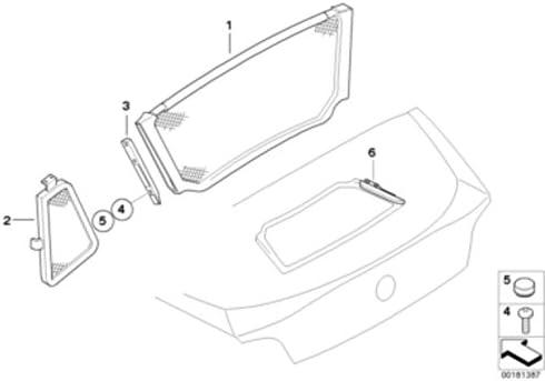 BMW Genuine Exterior Bracket Right O//S For Wind Deflector E85 Z4 54347117750