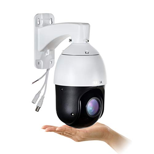 SUNBA 22X Optical Zoom, 960H Analog High Speed PTZ Camera, CCTV 328ft Night Vision Outdoor Security Dome RS485 Control ()