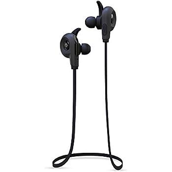 BlueAnt - Pump Lite HD Wireless Sportsbuds, IP54 Sweat-Proof, Siri and Google Integration (Black)