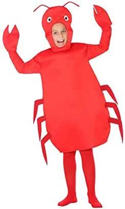 Atosa-56985 Disfraz Cangrejo, Color Rojo, 7 a 9 años (56985 ...