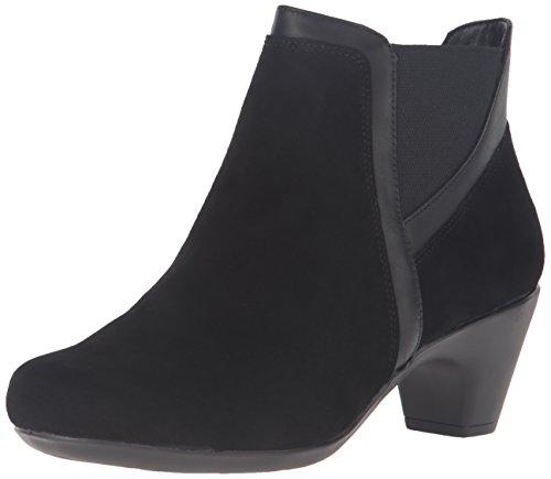 Lätt Anda Kvinna Carilynn Boot Svart / Multi Mocka
