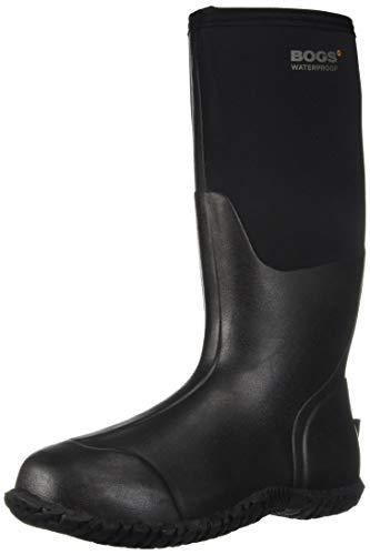 Insulated Warm Bogs Waterproof Ladies Black eu 78449 uk Boot Tall Wellies Carver 43 9 wnZxBZa4