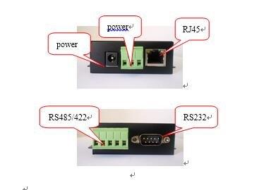 Actualización np801d servidor serie Modbus Gateway RS-232/485/422 - TCP/IP: Amazon.es: Electrónica