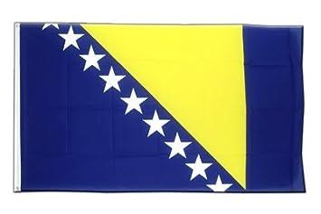 Fahne Flagge Bosnien alt 90 x 150 cm