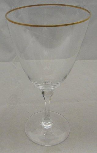 (Lenox Mansfield (Gold Trim) Water Goblet)