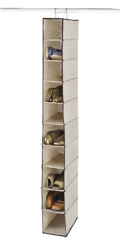 WHITMOR 6470–2664Moda lona Hanging Zapato Estantes