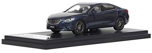 (INTERALLIED Hi Story 1/43 Mazda ATENZA Sedan (2016) Deep Crystal Blue Mica Finished Product)