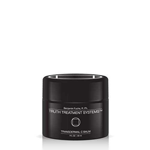 Transdermal C Balm – Moisturizes Nourishes Dry, Dehydrated Skin 15ML by Benjamin Knight R.Ph. Truth Treatment Systems
