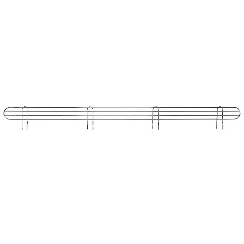 AKRO-MILS  AWLEDGE60 - Ledge for 60-Inch Chrome Wire Shelf System - Pack of 4 by Akro-Mils