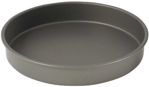 WINCO HAC-122 Round Cake Pan, 12-Inch, Hard Anodized Aluminum (Pizza Pan Deep Dish compare prices)