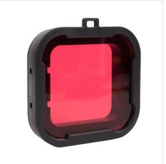 CoCocina Xiaomi Yi 4K Accessories Under Water Dive Lens Filter For Xiaomi Yi 2 4K Actioncamera - Red (Action Filter)