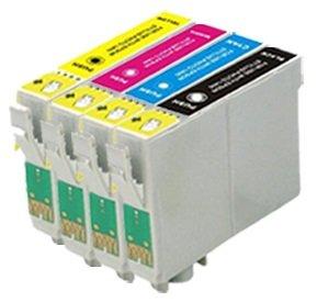 Compatible Recargables T1285 Cartuchos de Tinta con Auto-Reset ...
