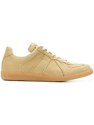 Margiela S57ws0175s48628168 Sneakers Maison Uomo Cotone Beige BaYdqwv