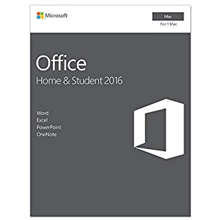Microsoft Office Home and Student 2016 for Mac | 1 user, Mac Key Card (B0148BYIPY) | Amazon Products