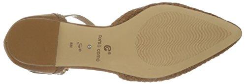 Capretto Como Tan Corso Merla Women's Flat qPXUU6w
