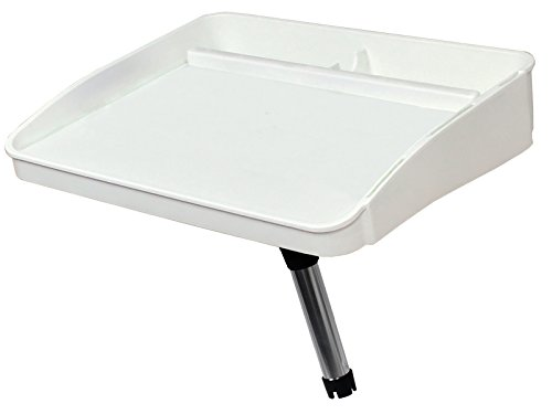 (Oceansouth Fillet, Bait Table With Rod Holder Mount---For Boat/Fishing/Cutting)