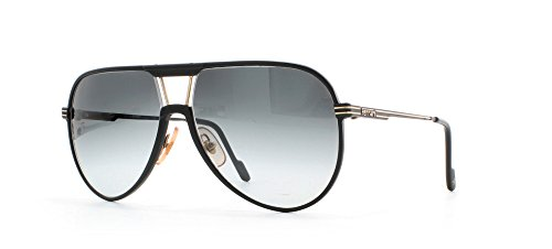 Ferrari 29 12A Black Certified Vintage Aviator Sunglasses For - Aviator Sunglasses Ferrari