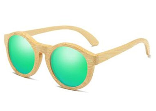 Womens Mens Bamboo Wooden Sunglasses ()