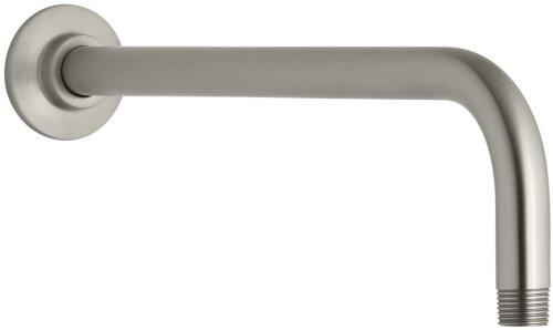 KOHLER K-10124-BN Right Angle Showerarm, Vibrant Brushed ()