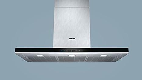 Siemens LC98BA572 - Campana (Canalizado/Recirculación, 860 m³/h, A, Montado en pared, LED, 897 Lux) Acero inoxidable: 473.11: Amazon.es: Grandes ...