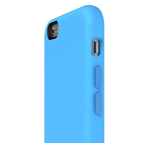 SwitchEasy AP-21-112-13 Numbers Tropfen-Schutz TPU Fall für Apple iPhone 6S blau