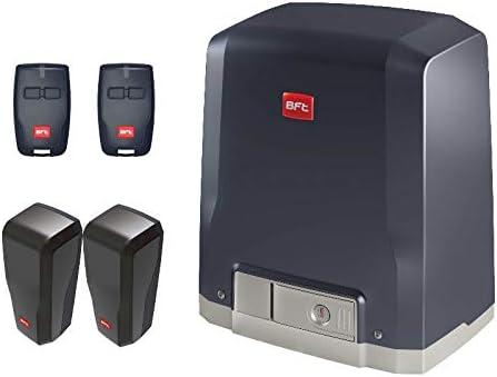 BFT DEIMOS KIT (DEIMOS AC A600 motor con unidad de control integrada + 2 X RCB02 transmisores + DESME A15 par de fotocélulas) para el accionamiento de puertas correderas de hasta 600