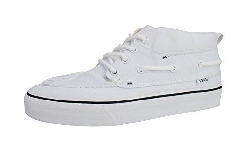 Scarpe Vans Unisex Chuckka Del Barco Sneakers Bianche Vere