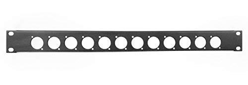 xlr rack panel - 6